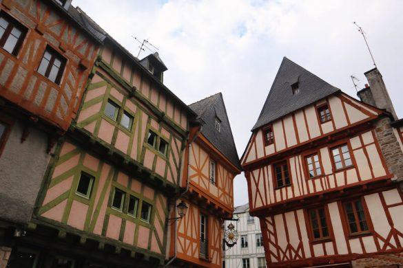 Las preciosas casas entramadas - Qué ver en Vannes