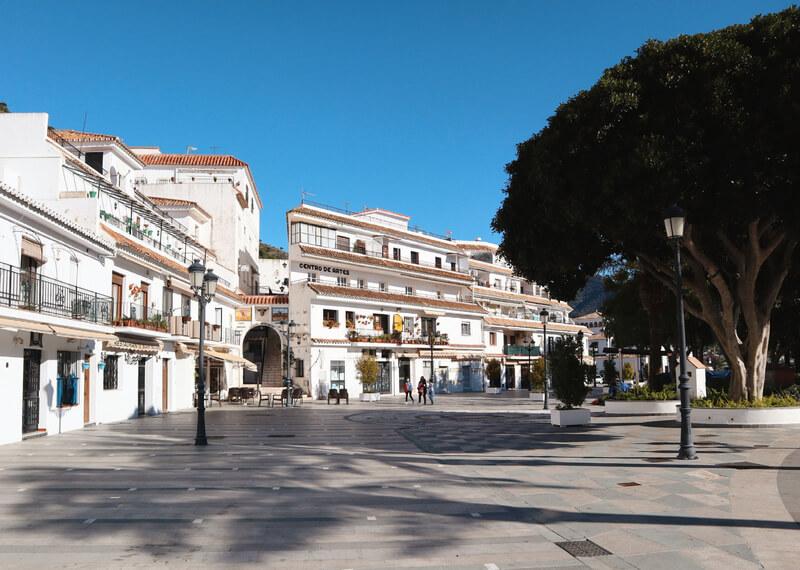 Plaza Virgen de la Peña de Mijas