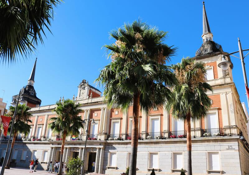 El edificio del Ayuntamiento de Huelva