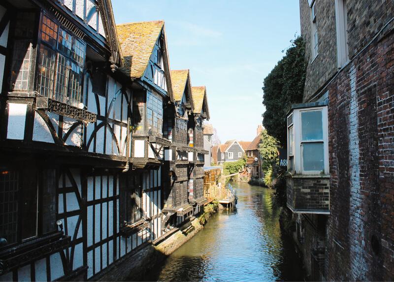 El rincón más bonito que ver en Canterbury