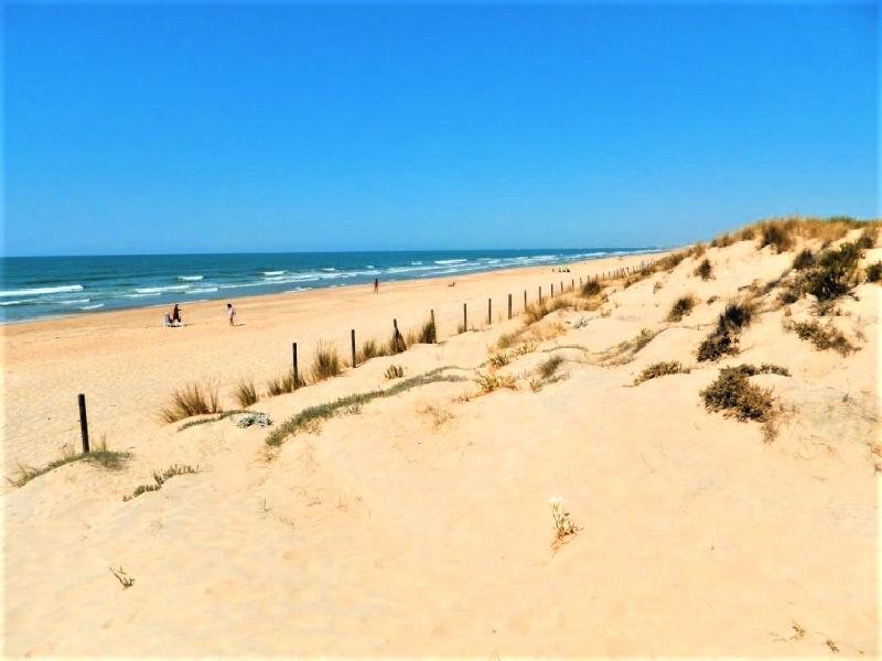 El Terrón, las playas de Huelva nudista