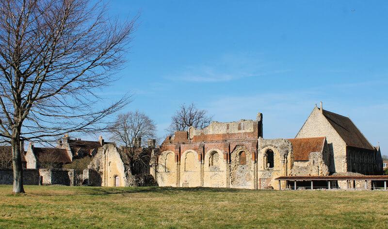 Las ruinas de la Abadía de San Agustín de Canterbury - Monumentos