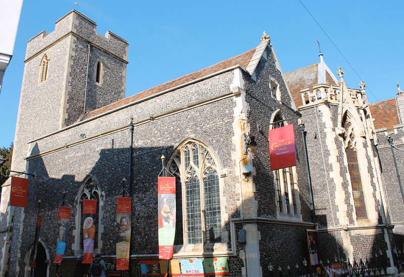 Los Cuentos de Canterbury en la Iglesia Santa Margarita