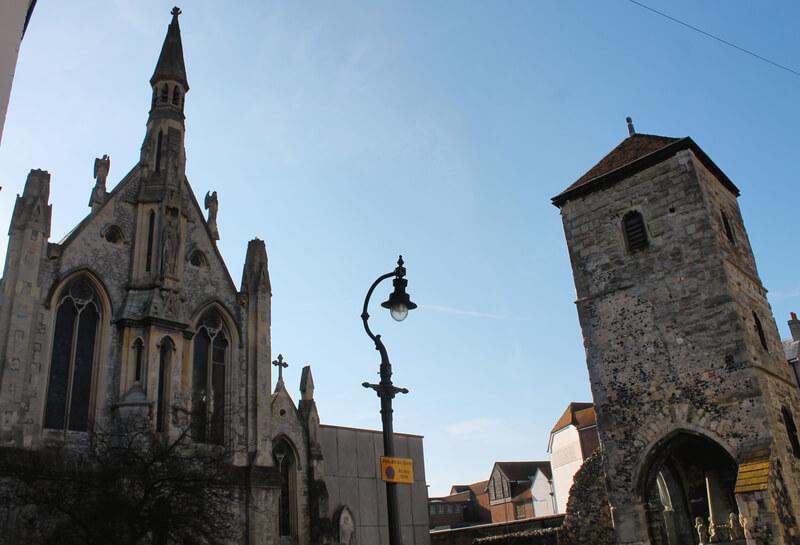 Monumentos bonitos del sur de Inglaterra