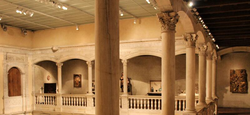 Salón del Castillo de Vélez Blanco en Nueva York