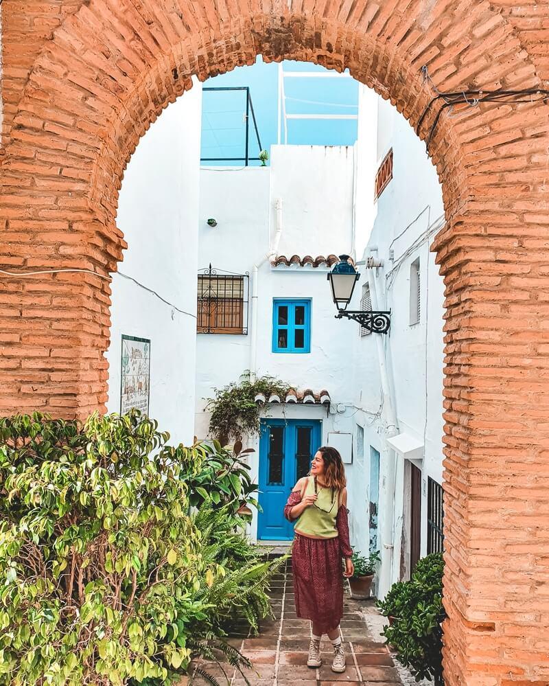 Arcos en ladrillo - Qué visitar en Frigiliana