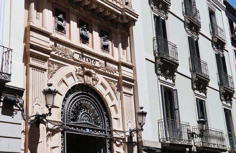 El Ateneo del barrio de las Letras madrileño