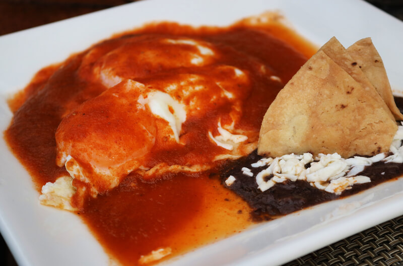 Huevos rancheros, el desayuno típico de México