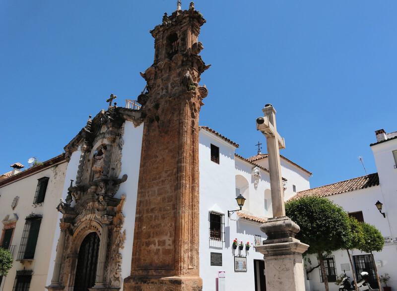 Las iglesias son un claro ejemplo del particular barroco andaluz