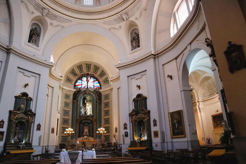 Parroquia de San Sebastián, donde está enterrado Lope de Vega