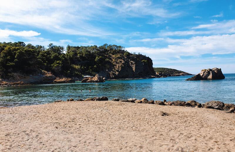 Cala Xarraca, dónde hacer snorkel en Ibiza