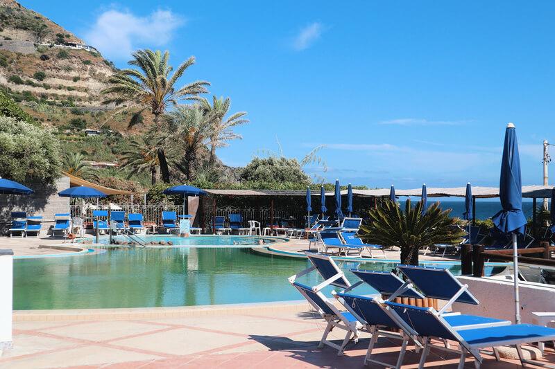 Balnearios de baños termales en Ischia
