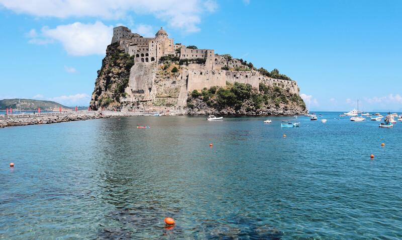El Castillo Aragonés, el monumento principal que ver en Ischia
