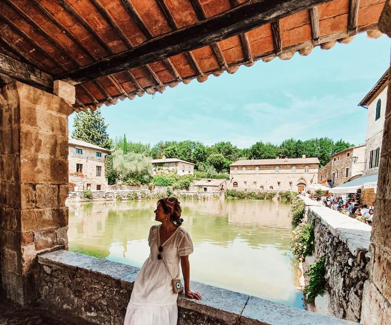 Bagno Vignoni uno de los pueblos más bonitos de la Toscana