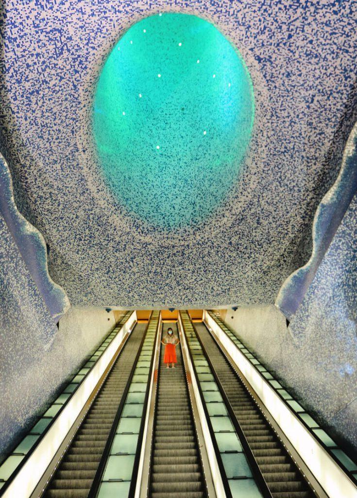 Estación de metro de Toledo - Quartieri Spagnoli