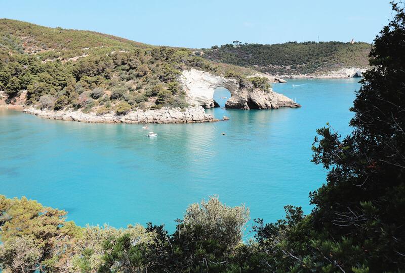 Playa de San Felice en El Gargano