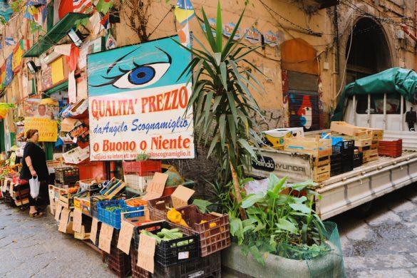 Qué ver en Nápoles en el Barrio Español