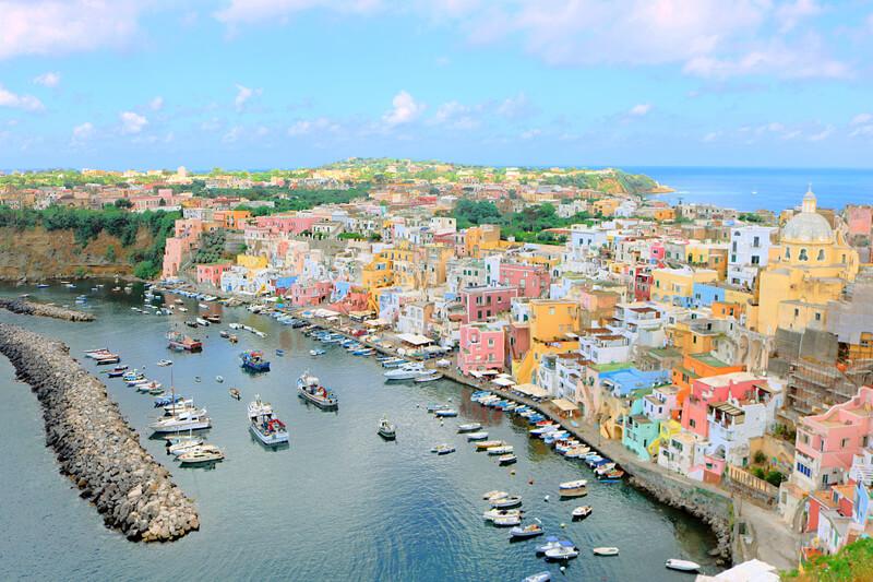Qué ver en Procida, la isla más bonita del Golfo de Nápoles