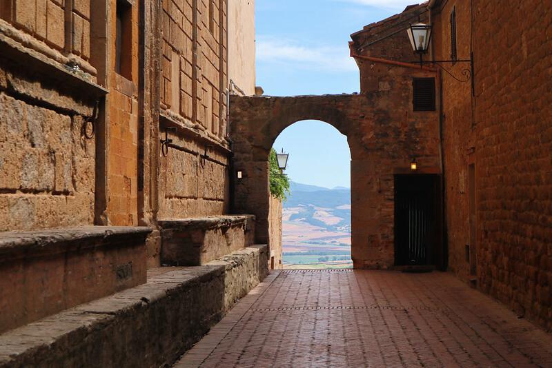 Uno de los lugares más bellos de la Toscana: Pienza