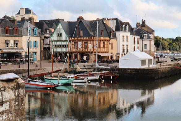 El pueblo pesquero de la pequeña Auray
