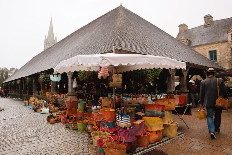 Mercado cubierto de Questembert - Qué ver cerca de Nantes