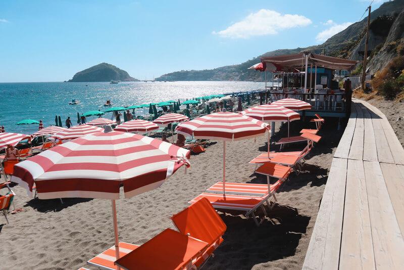 Playa de Maronti, una de mis preferidas