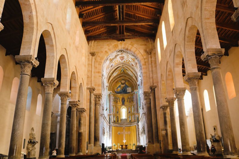 Cristo Pantócrator en la Catedral - Patrimonio de la UNESCO