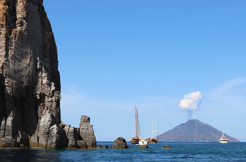 Crucero de un día por le Isole Eolie