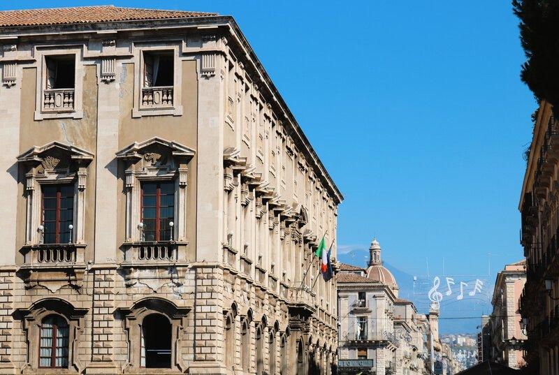 El Etna desde la via Etnea - Qué ver en Catania en un día