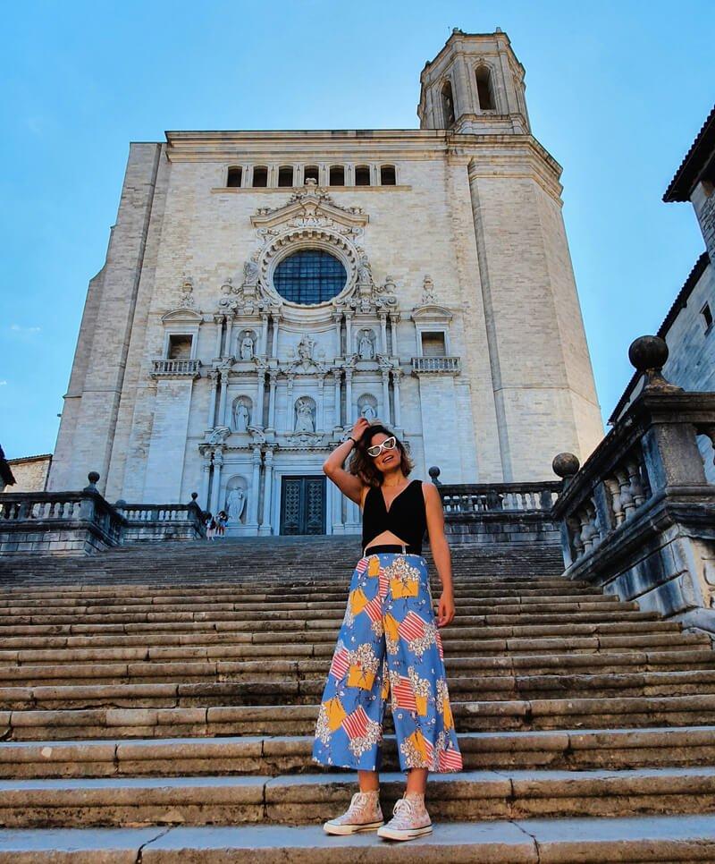 Las famosas escaleras de la Catedral de Girona, Juego de Tronos