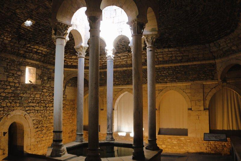 Los Baños Árabes - Qué visitar en Girona