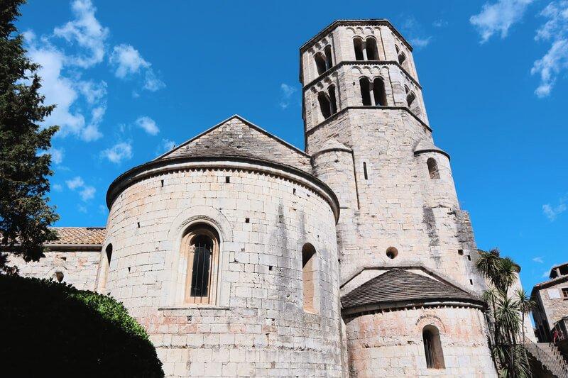 Monumentos de Gerona - Monasterio Sant Pere Galligants