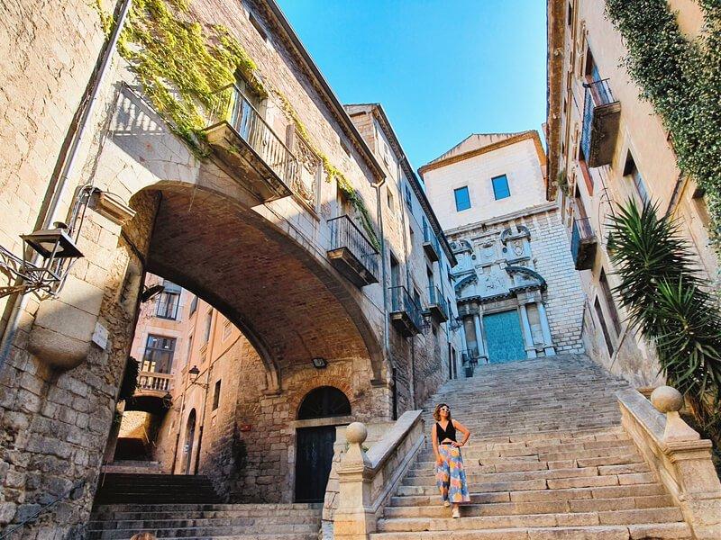 Pujada de Sant Dómenec, el rincón más bonito de la ciudad